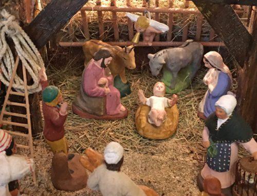 Jésus est né dans une crèche en Provence