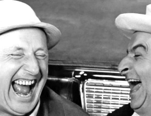 Le rire c'est comme les essuie-glaces